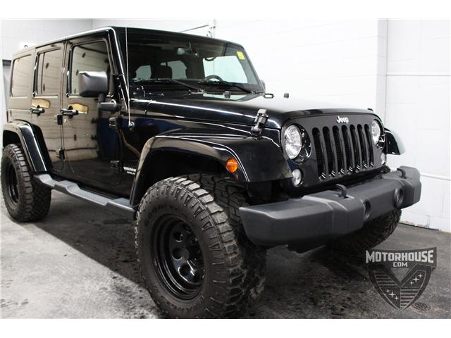 2015 Jeep Wrangler Unlimited Sahara (Stk: 1613) in Carleton Place - Image 11 of 35
