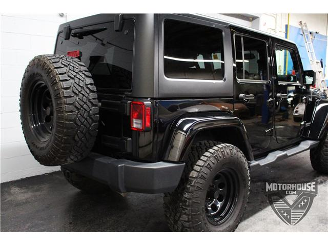 2015 Jeep Wrangler Unlimited Sahara (Stk: 1613) in Carleton Place - Image 13 of 35