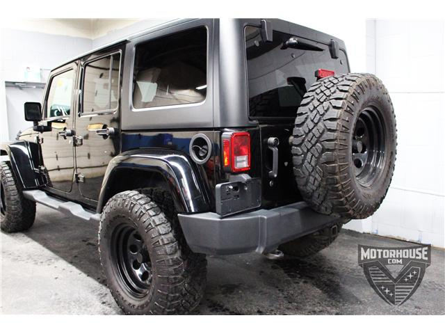 2015 Jeep Wrangler Unlimited Sahara (Stk: 1613) in Carleton Place - Image 17 of 35