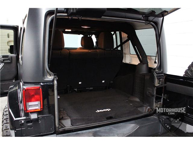 2015 Jeep Wrangler Unlimited Sahara (Stk: 1613) in Carleton Place - Image 20 of 35