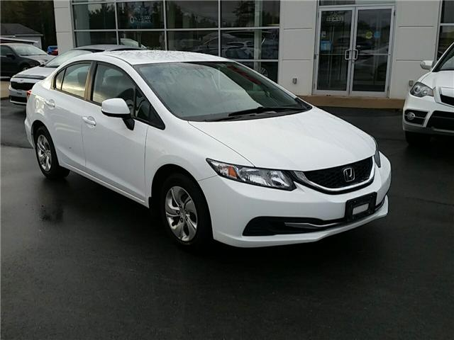 2013 Honda Civic LX (Stk: U920) in Bridgewater - Image 1 of 22