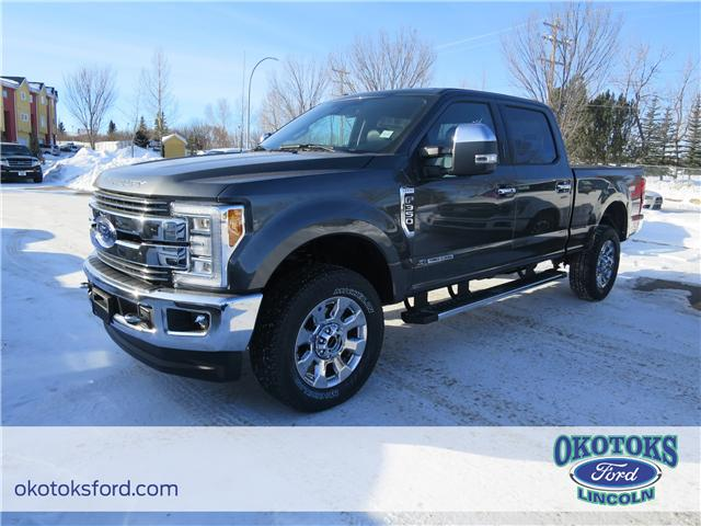 2018 Ford F-350 Lariat (Stk: JK-152) in Okotoks - Image 1 of 5
