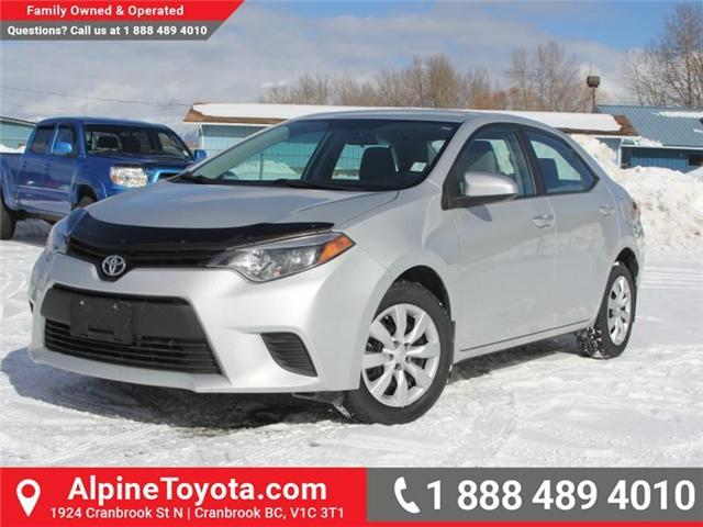2014 Toyota Corolla LE (Stk: J552535A) in Cranbrook - Image 1 of 16