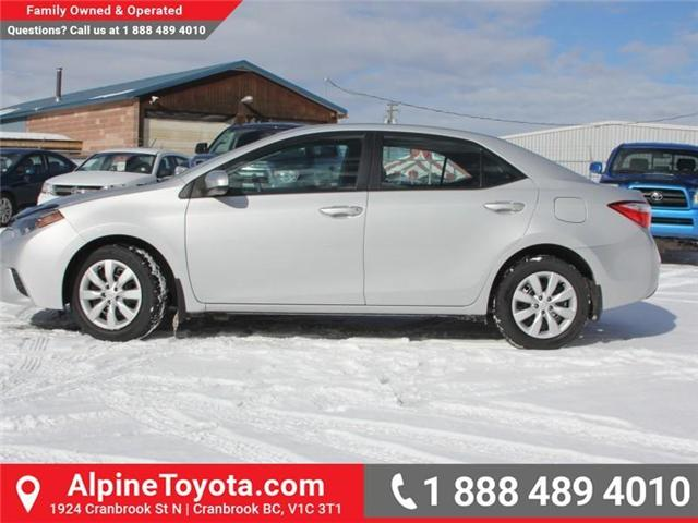 2014 Toyota Corolla LE (Stk: J552535A) in Cranbrook - Image 2 of 16