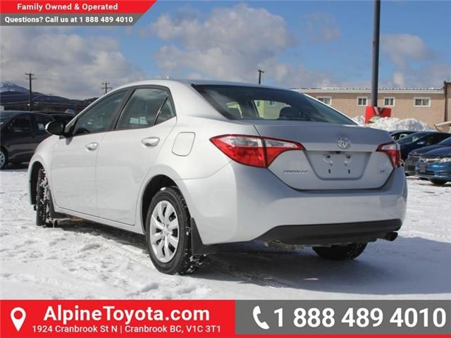 2014 Toyota Corolla LE (Stk: J552535A) in Cranbrook - Image 3 of 16