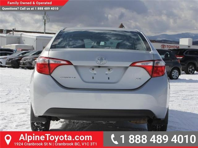 2014 Toyota Corolla LE (Stk: J552535A) in Cranbrook - Image 4 of 16