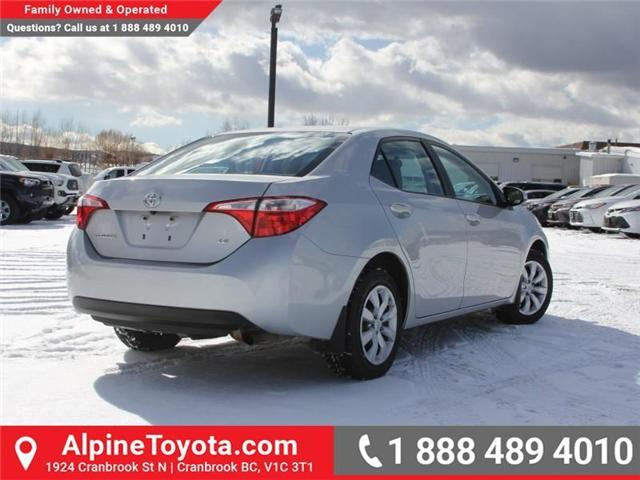 2014 Toyota Corolla LE (Stk: J552535A) in Cranbrook - Image 5 of 16