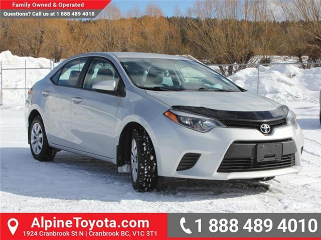 2014 Toyota Corolla LE (Stk: J552535A) in Cranbrook - Image 7 of 16