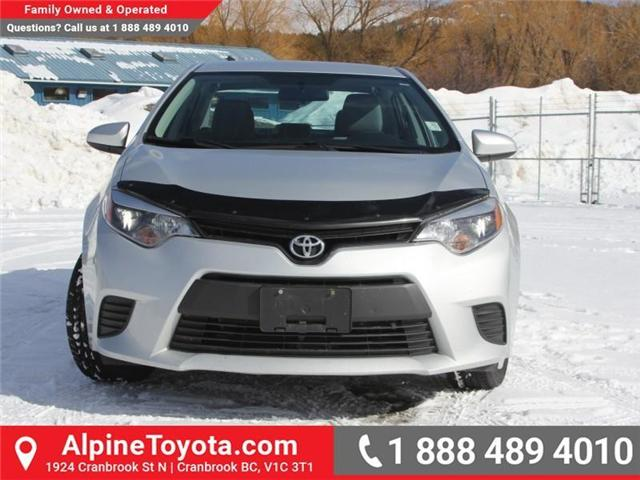 2014 Toyota Corolla LE (Stk: J552535A) in Cranbrook - Image 8 of 16