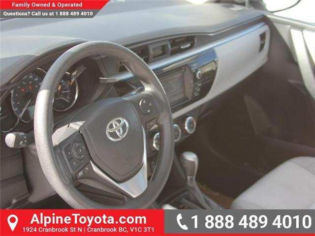 2014 Toyota Corolla LE (Stk: J552535A) in Cranbrook - Image 9 of 16