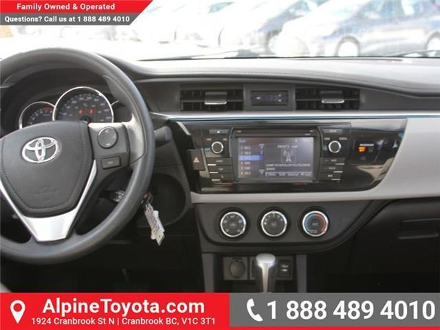 2014 Toyota Corolla LE (Stk: J552535A) in Cranbrook - Image 10 of 16