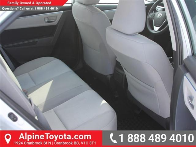 2014 Toyota Corolla LE (Stk: J552535A) in Cranbrook - Image 12 of 16