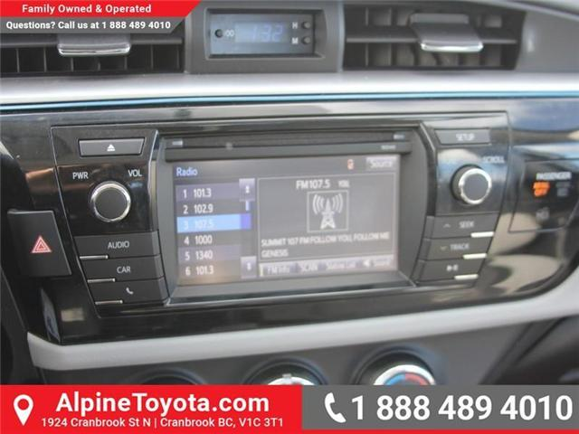 2014 Toyota Corolla LE (Stk: J552535A) in Cranbrook - Image 13 of 16