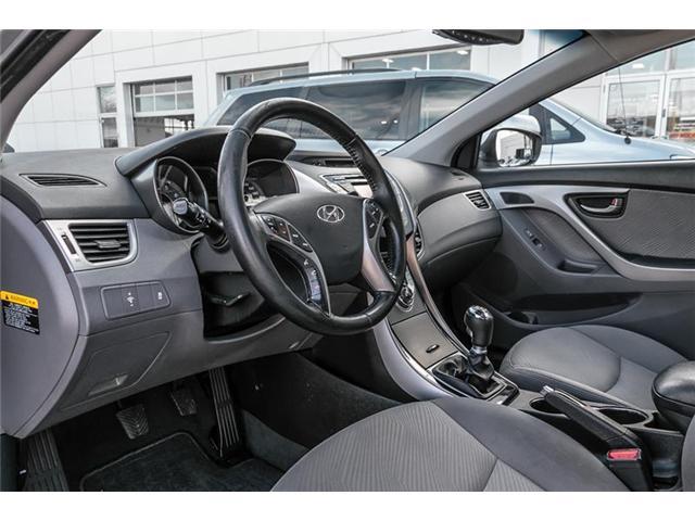 2013 Hyundai Elantra GL (Stk: U4673A) in Mississauga - Image 6 of 17
