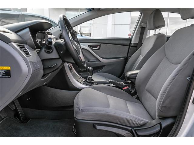 2013 Hyundai Elantra GL (Stk: U4673A) in Mississauga - Image 7 of 17