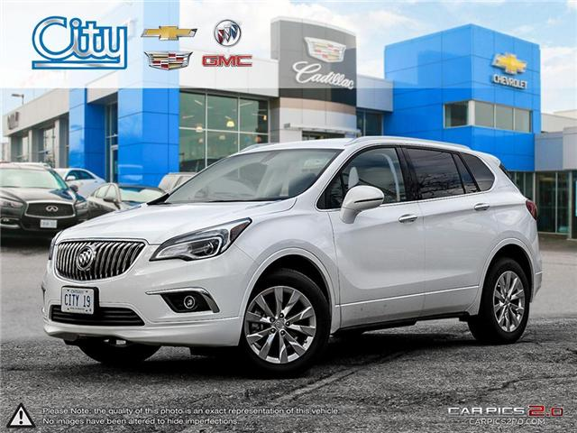 2017 Buick Envision Essence (Stk: 2751604) in Toronto - Image 1 of 28