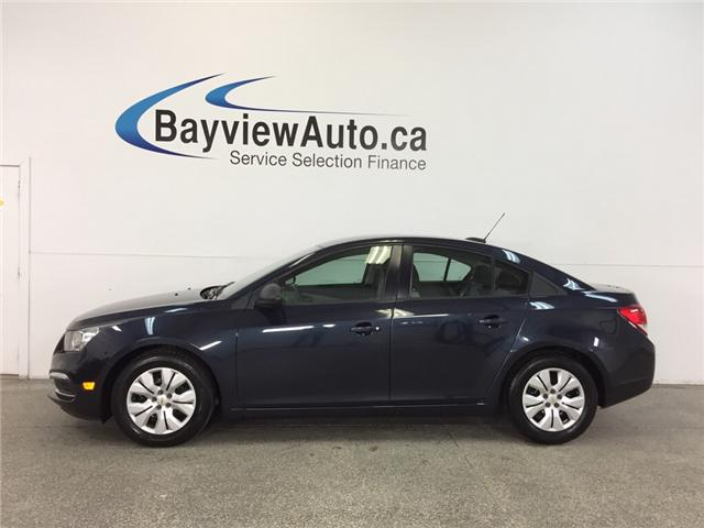 2015 Chevrolet Cruze - AUTO|1.8L|A/C|ON STAR|19,250 KM! (Stk: 32209J) in Belleville - Image 1 of 25