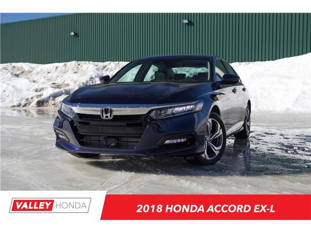 2018 Honda Accord EX-L (Stk: N04608) in Woodstock - Image 1 of 13