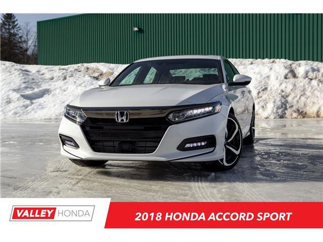 2018 Honda Accord Sport (Stk: N04617) in Woodstock - Image 1 of 12