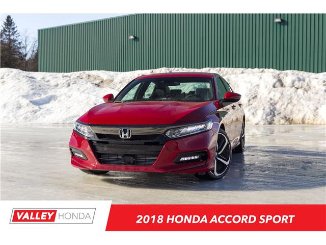 2018 Honda Accord Sport (Stk: N04623) in Woodstock - Image 1 of 5