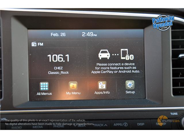 2018 Hyundai Elantra GL SE (Stk: R85119) in Ottawa - Image 12 of 20