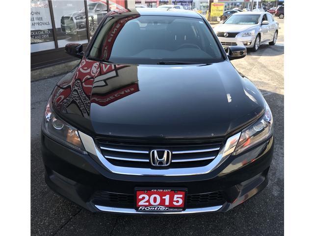 2015 Honda Accord Sport (Stk: 639) in Toronto - Image 2 of 15