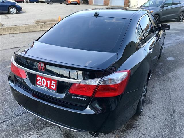 2015 Honda Accord Sport (Stk: 639) in Toronto - Image 4 of 15