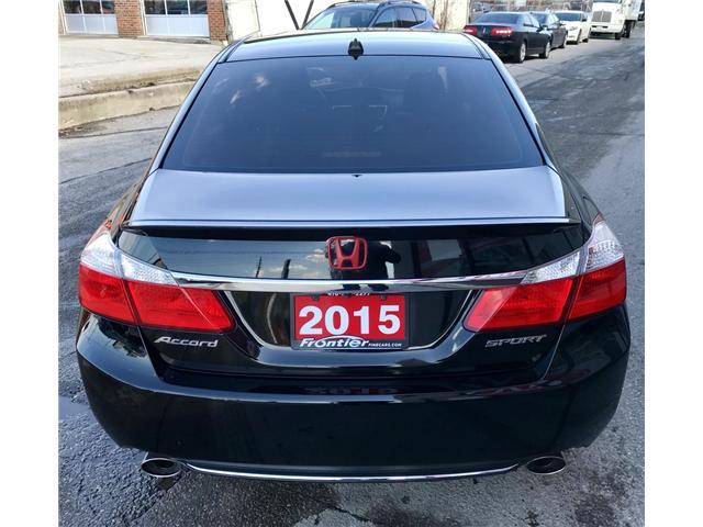 2015 Honda Accord Sport (Stk: 639) in Toronto - Image 5 of 15
