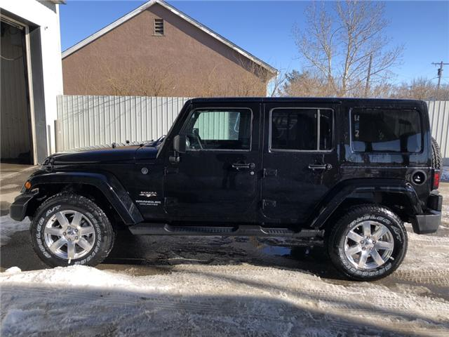 2017 Jeep Wrangler Unlimited Sahara (Stk: 11696) in Fort Macleod - Image 2 of 17