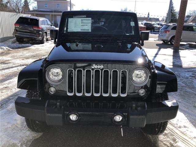 2017 Jeep Wrangler Unlimited Sahara (Stk: 11696) in Fort Macleod - Image 7 of 17