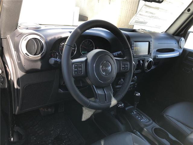2017 Jeep Wrangler Unlimited Sahara (Stk: 11696) in Fort Macleod - Image 12 of 17