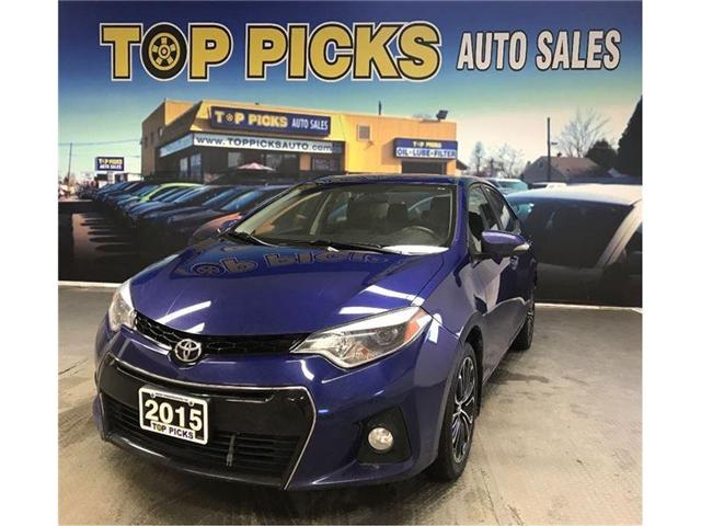 2015 Toyota Corolla S (Stk: 268260) in NORTH BAY - Image 1 of 18