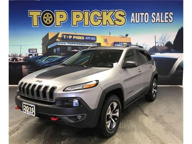 2016 Jeep Cherokee Trailhawk (Stk: 277480) in NORTH BAY - Image 1 of 21