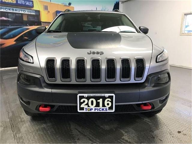 2016 Jeep Cherokee Trailhawk (Stk: 277480) in NORTH BAY - Image 2 of 21