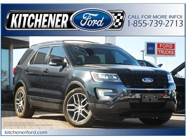 2017 Ford Explorer Sport (Stk: 144340) in Kitchener - Image 1 of 21