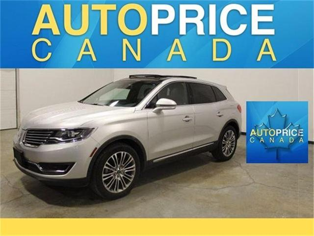 2016 Lincoln MKX Reserve (Stk: D8551) in Mississauga - Image 1 of 21