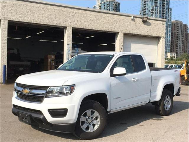 2018 Chevrolet Colorado New 2018 Colorado 4x4 Extended Cab! (Stk: PU85038) in Toronto - Image 1 of 24