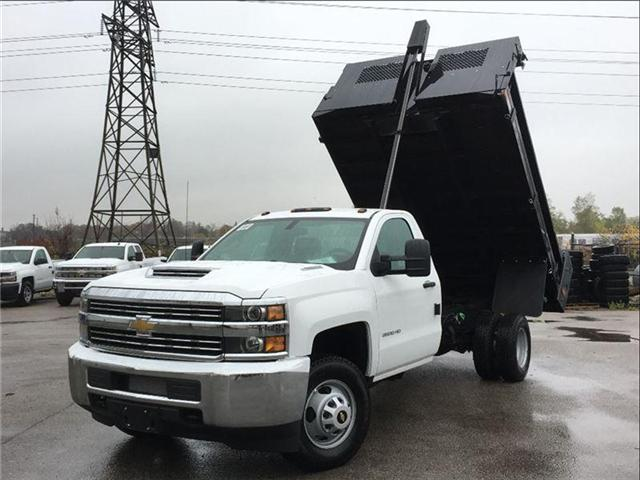2018 Chevrolet SILVERADO 3500HD New 2018 Chevrolet Diesel 4x4 Dump! (Stk: DT85062) in Toronto - Image 1 of 18