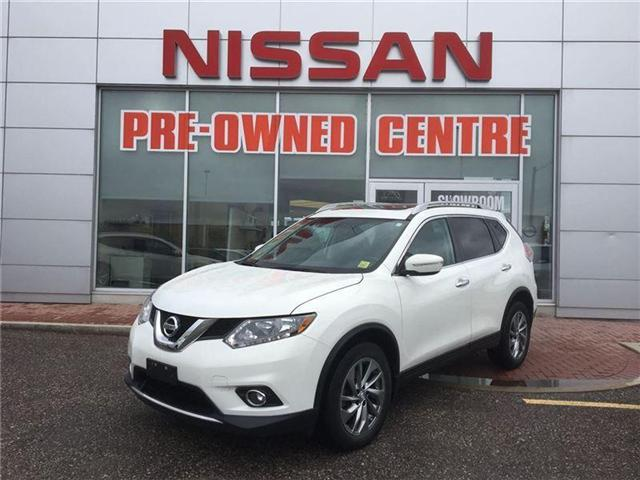 2014 Nissan Rogue SL, AWD, LEATHER, MOON-ROOF, BACK-CAMERA (Stk: U2814) in Scarborough - Image 1 of 15