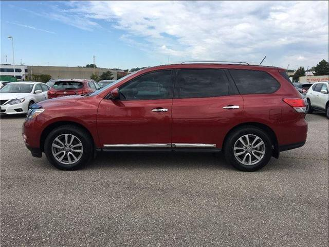 2015 Nissan Pathfinder SL, AWD, TECH PKG, PANORAMIC ROOF (Stk: M9091A) in Scarborough - Image 2 of 22