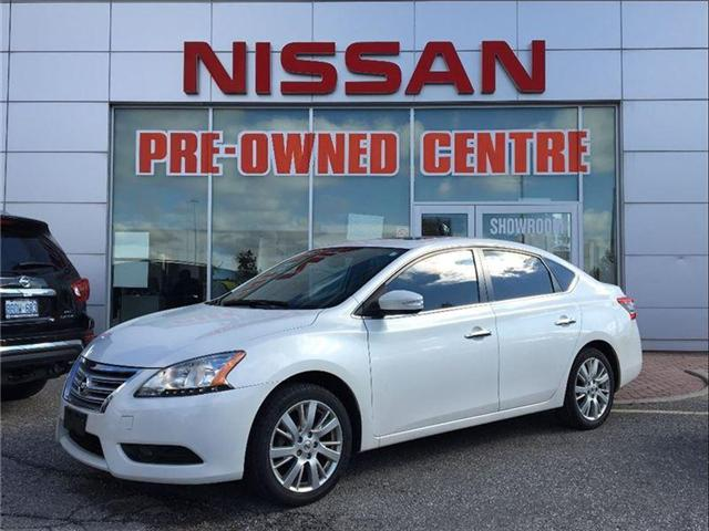 2014 Nissan Sentra 1.8 SL, TECH PKG, LEATHER, SUNROOF (Stk: U2912) in Scarborough - Image 1 of 20
