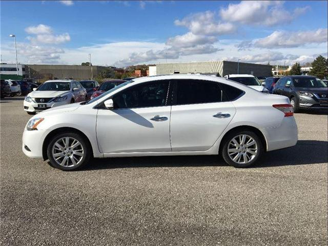 2014 Nissan Sentra 1.8 SL, TECH PKG, LEATHER, SUNROOF (Stk: U2912) in Scarborough - Image 2 of 20