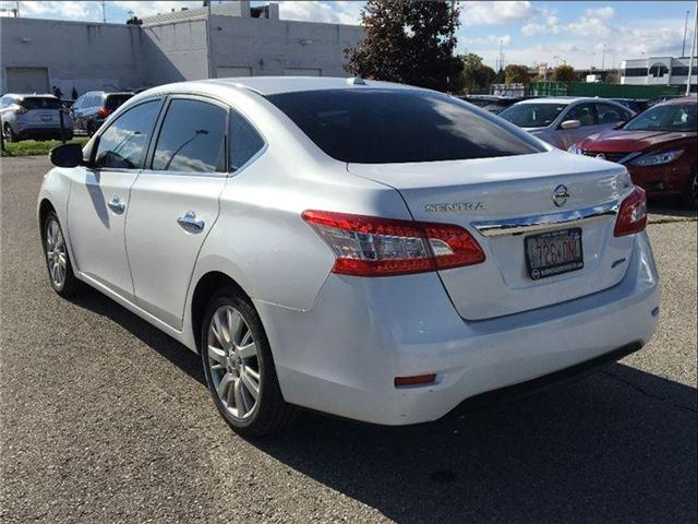 2014 Nissan Sentra 1.8 SL, TECH PKG, LEATHER, SUNROOF (Stk: U2912) in Scarborough - Image 3 of 20