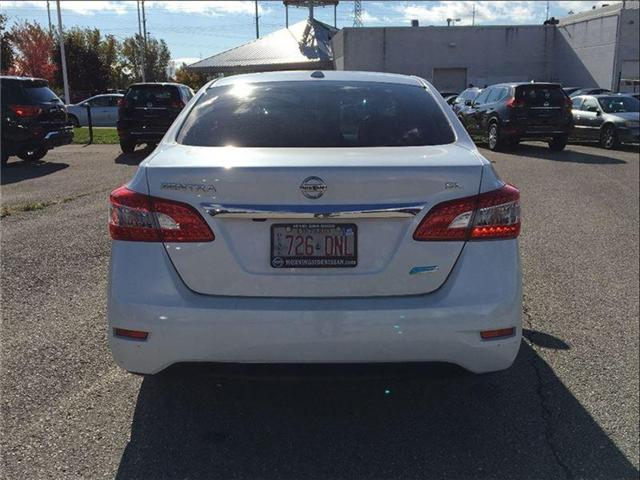2014 Nissan Sentra 1.8 SL, TECH PKG, LEATHER, SUNROOF (Stk: U2912) in Scarborough - Image 4 of 20