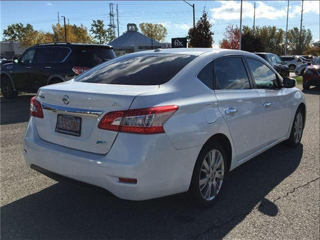 2014 Nissan Sentra 1.8 SL, TECH PKG, LEATHER, SUNROOF (Stk: U2912) in Scarborough - Image 5 of 20