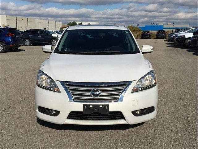 2014 Nissan Sentra 1.8 SL, TECH PKG, LEATHER, SUNROOF (Stk: U2912) in Scarborough - Image 8 of 20
