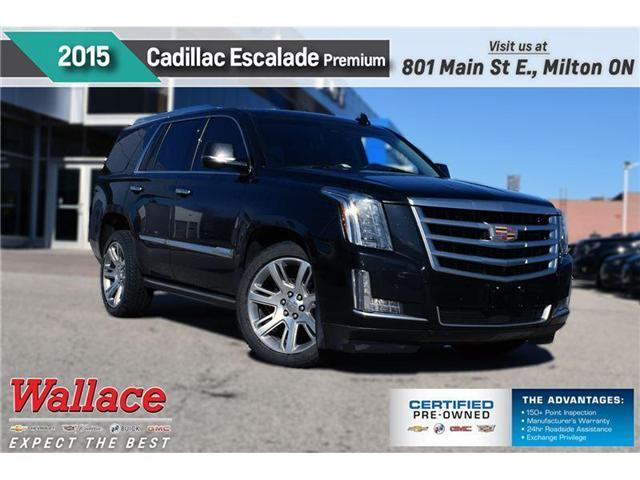 2015 Cadillac Escalade Premium/DVD/SUNRF/22s/TRAILR PKG/HTD&CLD STS (Stk: PR4644) in Milton - Image 1 of 28