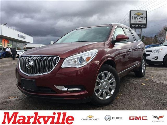 2015 Buick Enclave LEATHER-NAVI-ROOF-GM CERTIFIED PRE-OWNED-1 OWNER (Stk: 343648A) in Markham - Image 1 of 21