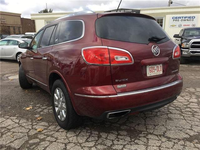 2015 Buick Enclave LEATHER-NAVI-ROOF-GM CERTIFIED PRE-OWNED-1 OWNER (Stk: 343648A) in Markham - Image 2 of 21