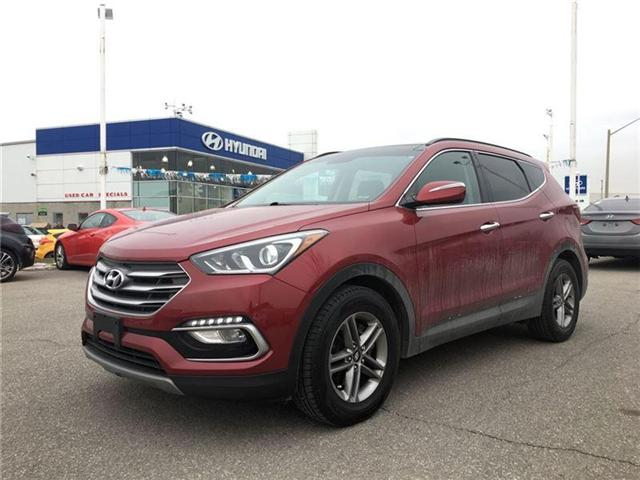 2017 Hyundai Santa Fe Sport SE LEATHER (Stk: 5XYZUD) in Brampton - Image 1 of 14